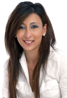 A portrait of Managing Director Eleftheria Leptokaridou